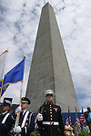 BUNKER HILL, BOSTON, MA.Veteran's Day Memorial