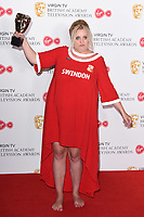 Daisy May Cooper in the winners room for the BAFTA TV Awards 2018 at the Royal Festival Hall, London, UK. <br /> 13 May  2018<br /> Picture: Steve Vas/Featureflash/SilverHub 0208 004 5359 sales@silverhubmedia.com