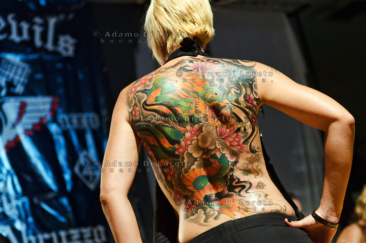 SILVI (TE): 7° CONVENTION EAST COAST TATTOO. FOTO DI LORETO