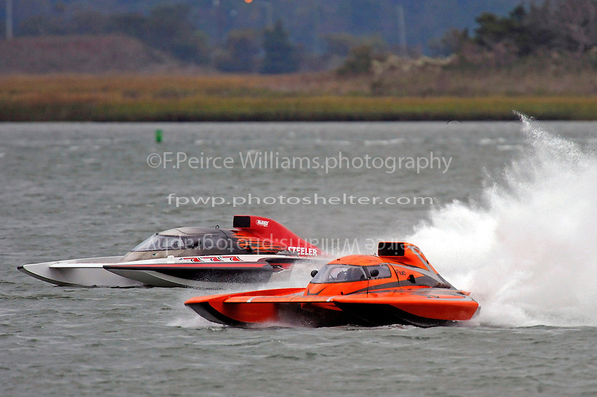 "George Kennedy, Jr., GP-79 ""Bad Influence""  (Grand Prix Hydroplane(s) and Bert Henderson, GP-777 ""Steeler"""