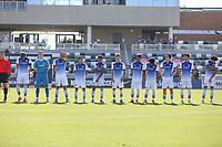 Irvine, CA - July 10, 2019: U.S. Soccer Boys' DA U-18/19 Final New York City FC vs FC Dallas at Great Park.