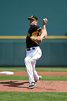Pittsburgh Pirates pitcher Collin Balester (71) during the Black & Gold intrasquad game on March 2, 2015 at McKechnie Field in Bradenton, Florida.  (Mike Janes/Four Seam Images)
