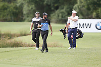 Zander Lombard (RSA) Scott Jamieson (SCO) and Shaun Norris (RSA) during the 2nd round of the Alfred Dunhill Championship, Leopard Creek Golf Club, Malelane, South Africa. 14/12/2018<br /> Picture: Golffile | Tyrone Winfield<br /> <br /> <br /> All photo usage must carry mandatory copyright credit (&copy; Golffile | Tyrone Winfield)