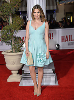 TV presenter Carly Steel at the world premiere of &quot;Hail Caesar!&quot; at the Regency Village Theatre, Westwood.<br /> February 1, 2016  Los Angeles, CA<br /> Picture: Paul Smith / Featureflash