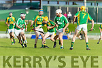 Luke Fitzell Kilmoyley in action against Gary O'Brien Ballyduff in the County Senior Hurling Final in Austin Stack Park on Saturday evening.