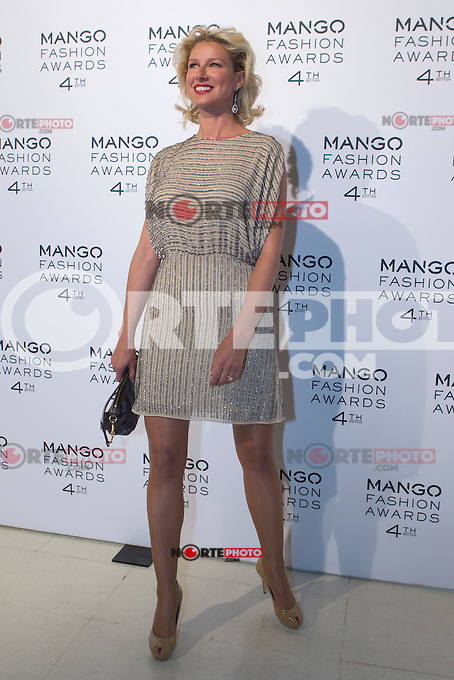 Anne Igartiburu attends the Mango Fashion Awards,  Barcelona Spain, May 30, 2012.