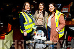 Siobhan O'Donoghue, Deirdre and Elaine Griffin and baby Harry Lewis at the James Ashe Memorial Tractor Run in Boolteens on Sunday.