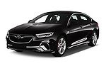 2019 Opel Insignia-Grand-Sport GSI 5 Door Hatchback Angular Front stock photos of front three quarter view