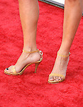 """Actress Marcela Mar 's shoes at The Los Angeles Premiere of """"Vicky Cristina Barcelona"""" at the Mann Village Theatre on August 4, 2008 in Westwood, California."""