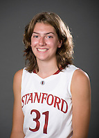Toni Kokenis of the Stanford basketball team.