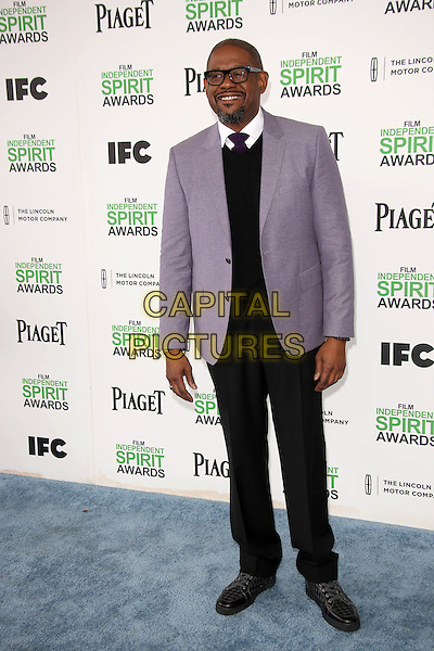 SANTA MONICA, CA - March 01: Forest Whitaker at the 2014 Film Independent Spirit Awards Arrivals, Santa Monica Beach, Santa Monica,  March 01, 2014. Credit: Janice Ogata/MediaPunch<br /> CAP/MPI/JO<br /> &copy;JO/MPI/Capital Pictures