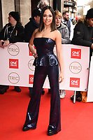 Katya Jones<br /> arriving for theTRIC Awards 2020 at the Grosvenor House Hotel, London.<br /> <br /> ©Ash Knotek  D3561 10/03/2020