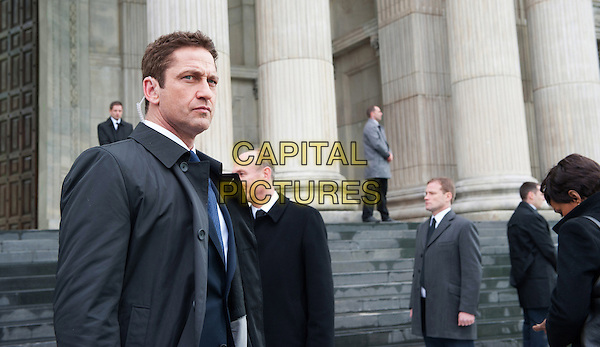 London Has Fallen (2016) <br /> Gerard Butler<br /> *Filmstill - Editorial Use Only*<br /> CAP/FB<br /> Image supplied by Capital Pictures