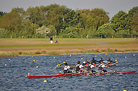 Wallingford Rowing Club Regatta 2011. Dorney..(J18A.4x-).Thames (397).Zimbabwe Rowing Association (398)