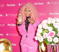"Nicki Minaj launches of her new fragrance, ""Pink Friday"" - New York"
