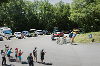 the breakaway group up the Mont du Chat (HC/1504m/8.7km/10.3%)<br /> <br /> Stage 6: Le parc des oiseaux/Villars-Les-Dombes &rsaquo; La Motte-Servolex (147km)<br /> 69th Crit&eacute;rium du Dauphin&eacute; 2017