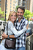 Kassie DePaiva and Ron Carlivatti attending The One Life to Live.43rd Anniversary Block Party outside the ABC Studio on July 15, 2011 in New York City.