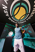 Rotterdam, The Netherlands, 14 Februari 2019, ABNAMRO World Tennis Tournament, Ahoy, Jo-Wilfried Tsonga (FRA), <br /> Photo: www.tennisimages.com/Henk Koster