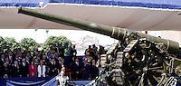 Il palco delle autorita' durante la parata militare in occasione della Festa della Repubblica, a Roma, 2 giugno 2014.<br /> Authorities attend the Republic Day military parade in Rome, 2 June 2014.<br /> UPDATE IMAGES PRESS/Riccardo De Luca