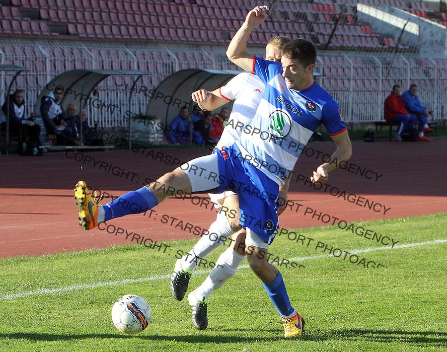 Fudbal Super liga season 2015-2016<br /> Radnicki (Nis) v Borac<br /> Borac Dusan Jovancic<br /> Nis, 1.11.2015.<br /> foto: Sasa Djordjevic/Starsportphoto &copy;