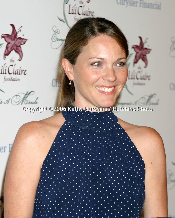 Kelli Williams.Lili Claire Gala.Beverly Hilton Hotel.Beverly Hills, CA.October 14, 2006.©2006 Kathy Hutchins / Hutchins Photo....