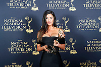 PASADENA - May 5: Jacqueline MacInnes Wood in the press room at the 46th Daytime Emmy Awards Gala at the Pasadena Civic Center on May 5, 2019 in Pasadena, California
