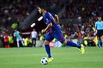 UEFA Champions League 2017/2018 - Matchday 1.<br /> FC Barcelona vs Juventus Football Club: 3-0.<br /> Luis Suarez.