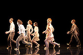 LONDON, ENGLAND - Rambert Dance Company performing Awakenings at Sadler's Wells