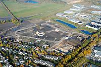 Olande:DEUTSCHLAND, SCHLESWIG- HOLSTEIN, GLINDE27.10.2005:Neubaugebiet Olande, Wohnungsbau Luftbild