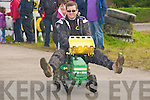Family Fun Day: Taking part in the family fun day at Kilflynn Hotrod Track on  Sunday eas Ger Greaney of Greaney,s Spar Shop,  Listowel