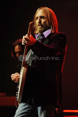 Tom Petty and the Heartbreakers perform at the Bank Atlantic center on July 15, 2008 in Sunrise Florida. Credit: mpi04/MediaPunch