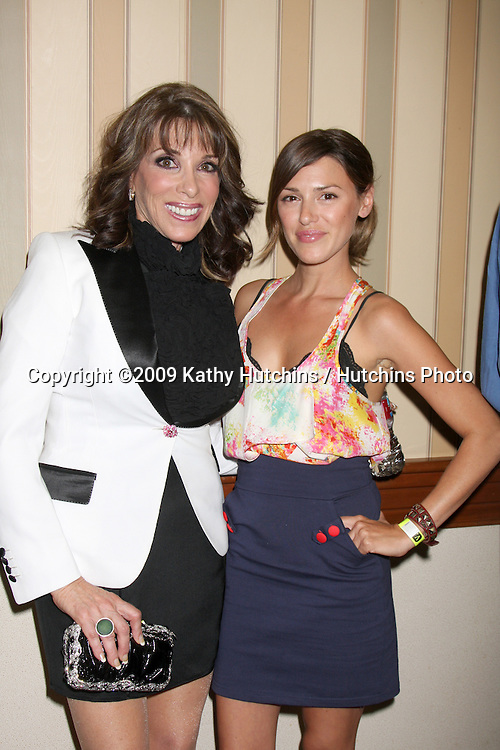 Kate Linder & Elizabeth Hendrickson  at The Young & the Restless Fan Club Dinner  at the Sheraton Universal Hotel in  Los Angeles, CA on August 28, 2009.©2009 Kathy Hutchins / Hutchins Photo.