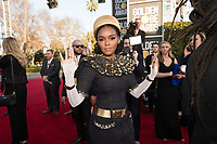 Janelle Monae attends the 76th Annual Golden Globe Awards at the Beverly Hilton in Beverly Hills, CA on Sunday, January 6, 2019.<br /> *Editorial Use Only*<br /> CAP/PLF/HFPA<br /> Image supplied by Capital Pictures