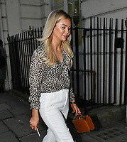 Georgia Toffolo<br /> Avenue St James VIP Cocktail Party, Mayfair, London, England on April 11, 2018.<br /> CAP/JOR<br /> &copy;JOR/Capital Pictures