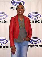 "ANAHEIM, CA - MARCH 31: Cast member Aisha Tyler of FX's ""Archer"" attends WonderCon 2019 at the Anaheim Convention Center on March 31, 2019 in Anaheim, California. (Photo by Frank Micelotta/FX/PictureGroup)"