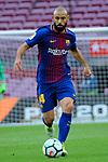 League Santander 2017/2018 - Game: 7.<br /> FC Barcelona vs UD Las Palmas: 3-0.<br /> Javier Mascherano.