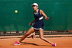 USA tennis player Claire Liu during Tennis Junior Fed Cup in Madrid, Spain. September 30, 2015. (ALTERPHOTOS/Victor Blanco)