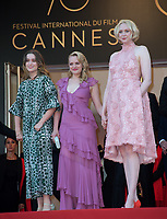 Alice Englert, Elisabeth Moss &amp; Gwendoline Christie at the premiere for &quot;The Beguiled&quot; at the 70th Festival de Cannes, Cannes, France. 24 May 2017<br /> Picture: Paul Smith/Featureflash/SilverHub 0208 004 5359 sales@silverhubmedia.com