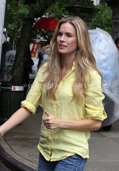 WWW.ACEPIXS.COM . . . . .  ....July 13 2010, New York City....Actress Katie Callahan on the Upper West Side set of the new season of the hit show 'Gossip Girl' on July 13 2010 in New York City....Please byline: PHILIP VAUGHAN - ACE PICTURES.... *** ***..Ace Pictures, Inc:  ..Philip Vaughan (212) 243-8787 or (646) 679 0430..e-mail: info@acepixs.com..web: http://www.acepixs.com