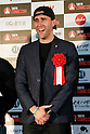 Actor Matthew Lewis poses for the cameras during the red carpet for the Tokyo Comic Con at Makuhari Messe International Exhibition Hall on December 2, 2016, Tokyo, Japan. Tokyo's Comic Con is part of the San Diego Comic-Con International event and is being held for the first time in Japan from December 2 to 4, 2016. (Photo by Rodrigo Reyes Marin/AFLO)