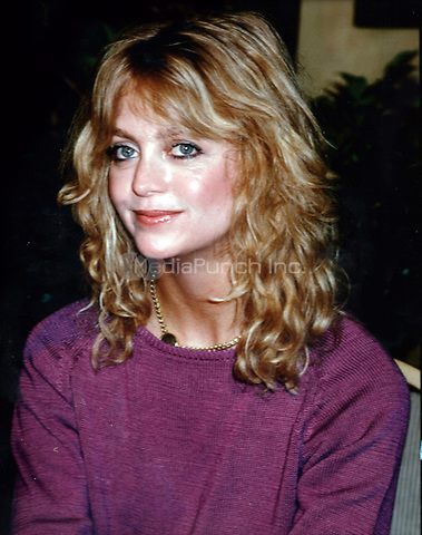 Goldie Hawn 1981<br /> Photo to By John Barrett/PHOTOlink/MediaPunch