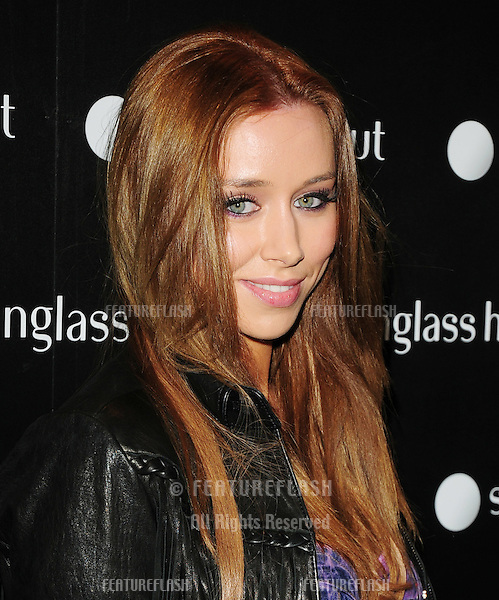 The Saturdays Una Healy  attending the launch party for the new Sunglasses Hut Store on Oxford Street, London. 29/04/2010  Picture by: Simon Burchell / Featureflash