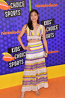 Mirai Nagasu at the Nickelodeon Kids' Choice Sports Awards 2018 at Barker Hangar, Santa Monica, USA 19 July 2018<br /> Picture: Paul Smith/Featureflash/SilverHub 0208 004 5359 sales@silverhubmedia.com