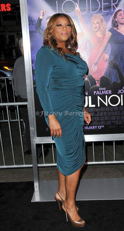 Queen Latifah at the premiere of Joyful Noise held at Grauman's  Chinese Theatre in Hollywood, CA. January 9, 2012