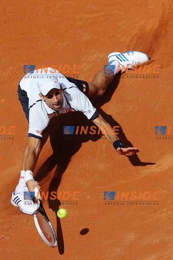 Novak Djokovic .Roma 17/05/2013 Foro Italico .Tennis Internazionali d'Italia 2013 .Foto Antonietta Baldassarre Insidefoto