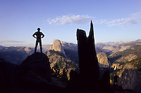 Half Dome and Glaciar Point in Yosemite National Park, California, USA