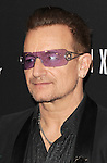 Bono arriving at The Weinstein Company and Netflix 2014 Golden Globes After Party, held at the old Trader Vic's in The Beverly Hilton Hotel on January 12, 2014