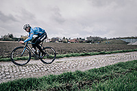 Stijn Devolder (BEL/Veranda's Willems-Crelan)   during recon of the 116th Paris - Roubaix 2018