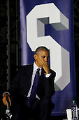United States President Barack Obama participates in a panel discussion on climate change as part of the White House South by South Lawn (SXSL) event about the importance of protecting the one planet we've got for future generations, on the South Lawn of the White House, Washington DC, October 3, 2016. <br /> Credit: Aude Guerrucci / Pool via CNP