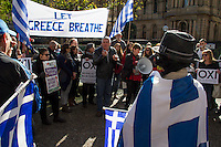 Emergency rally for Greece, Sydney Town Hall 04.07.15
